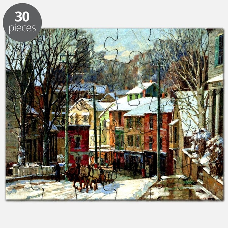 Winter in Gloucester Puzzle