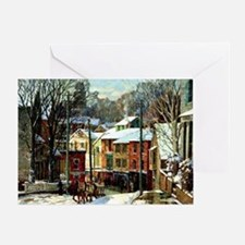 Winter in Gloucester Greeting Card