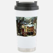 Winter in Gloucester Travel Mug