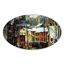 Winter in Gloucester Decal