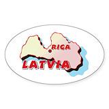 Latvian Bumper Stickers