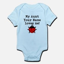 My Aunt Loves Me Ladybug Body Suit