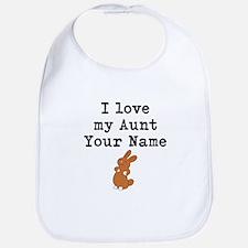 I Love My Aunt Bunny Bib