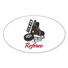 Hockey Referee Decal