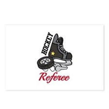 Hockey Referee Postcards (Package of 8)
