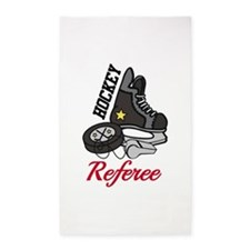 Hockey Referee 3'x5' Area Rug