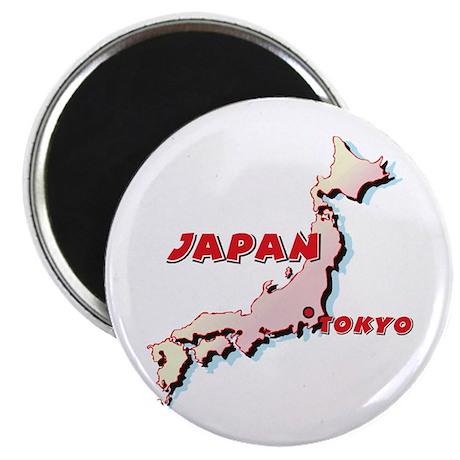 Japan Map Magnet