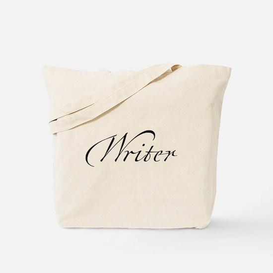 Funny Script Tote Bag