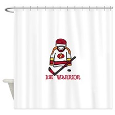 Ice Warrior Shower Curtain
