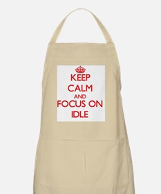 Down with dusty Apron