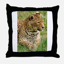Cute Leopard Throw Pillow