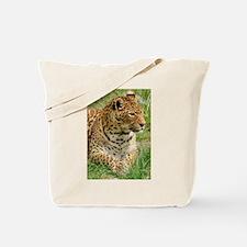 Funny Leopard skin Tote Bag