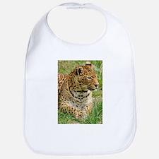 Cute Leopard pattern Bib