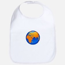 Globe Earth World Bib
