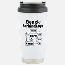 Beagle Logic Stainless Steel Travel Mug