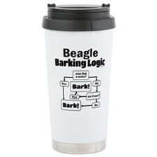 Beagle Logic Travel Coffee Mug