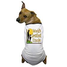 World's Greatest Uncle Dog T-Shirt