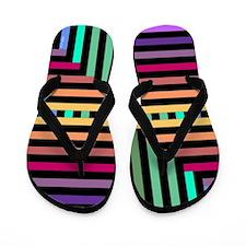 Parquet Flip Flops