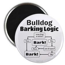 Bulldog logic Magnet