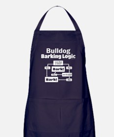Bulldog logic Apron (dark)