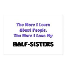 more I learn about people, more I love my HALF-SIS