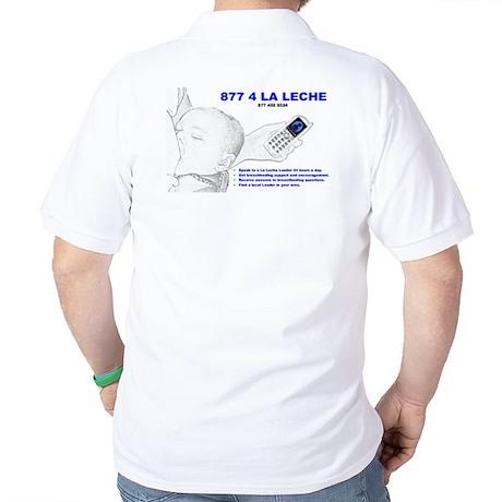 lllbhlogotext Golf Shirt