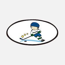 Hockey Boy Patches