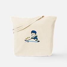 Hockey Boy Tote Bag