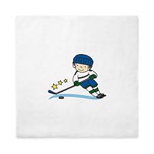 Hockey Boy Queen Duvet