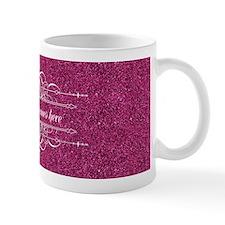 Pink Glitter Mug