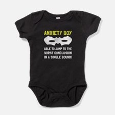 Anxiety Boy Baby Bodysuit