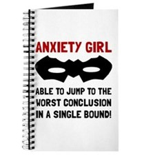 Anxiety Girl Journal