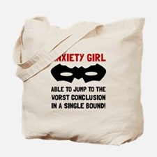 Anxiety Girl Tote Bag