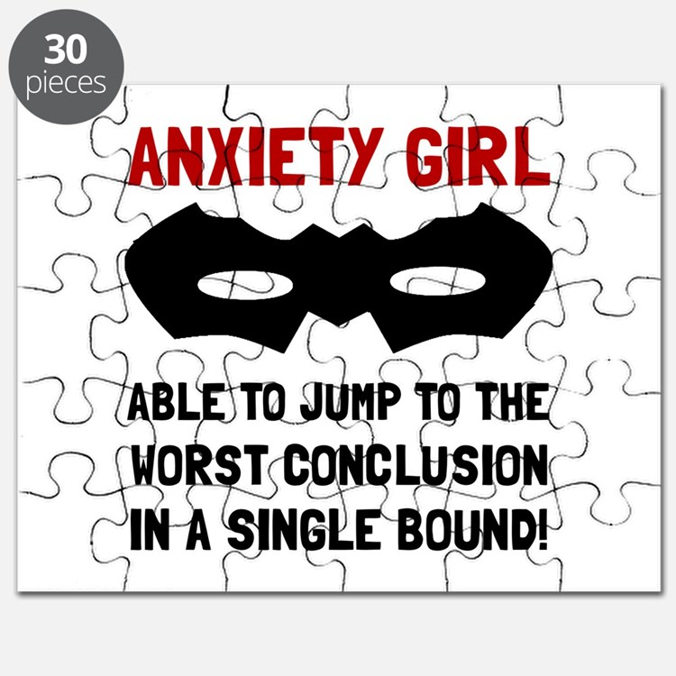 Anxiety Girl Puzzle