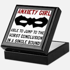 Anxiety Girl Keepsake Box