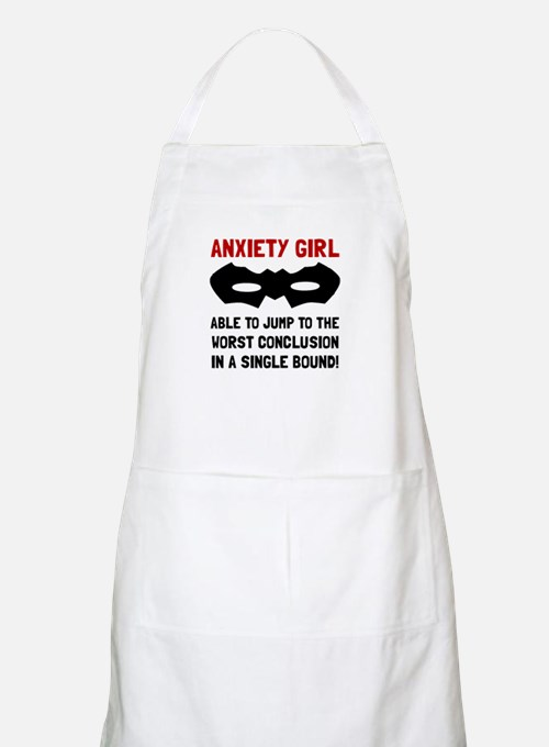 Anxiety Girl Apron