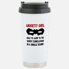 Anxiety Girl Travel Mug
