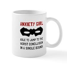 Anxiety Girl Mugs