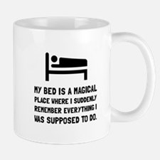 Bed Magical Place Mugs