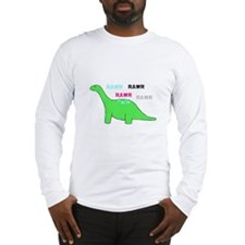 Rawr! Green Long Sleeve T-Shirt