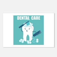 Dental Care Postcards (Package of 8)