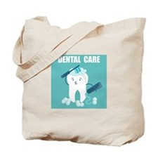 Dental Care Tote Bag