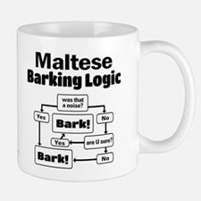 Maltese Logic Small Mugs