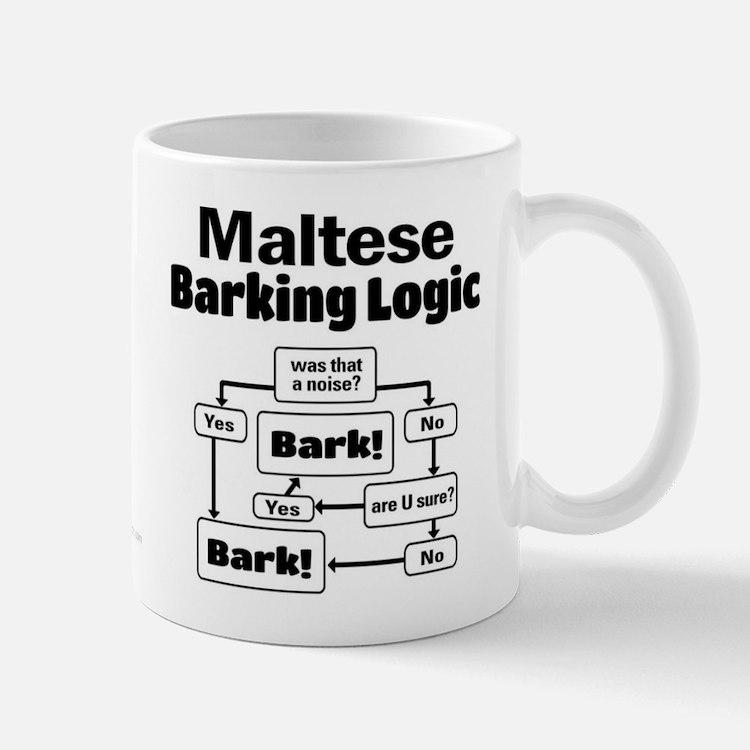 Maltese Logic Small Mugs