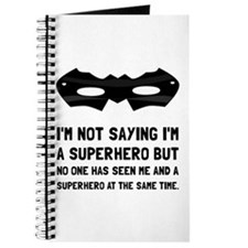 Me And Superhero Journal