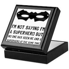 Me And Superhero Keepsake Box