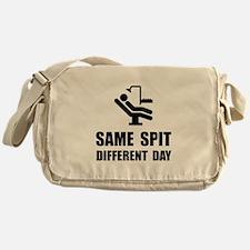 Same Spit Different Day Messenger Bag