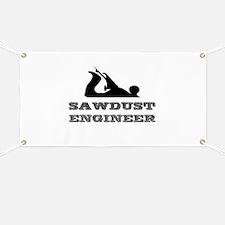 Sawdust Engineer Banner