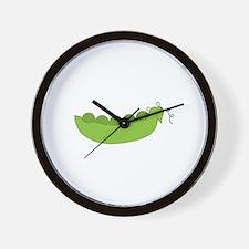 Peapods Wall Clock
