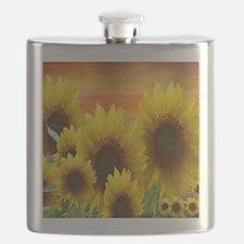 Cute Sunflower Flask
